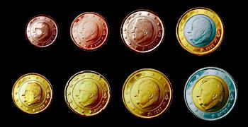 Euromünzen Info Buntebank Reproduktionen Hamburg Cent Euro Münzen