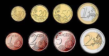 euro geschenk sammlung vorderseiten euromuenzen